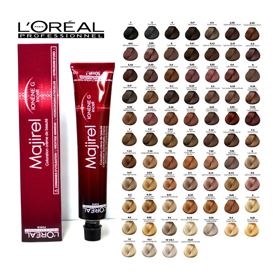 L Oreal Professional Majirel Blonde Hair Dye Colour