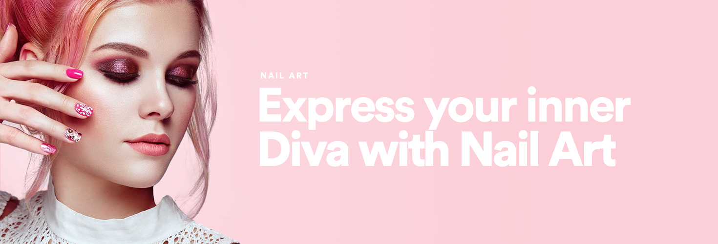 Express your Inner Diva with Nail Art